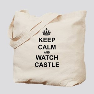 """""""Keep Calm And Watch Castle"""" Tote Bag"""