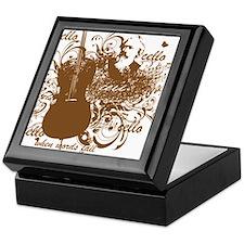 Music Speaks Cello Keepsake Box