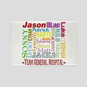 Team General Hospital Rectangle Magnet