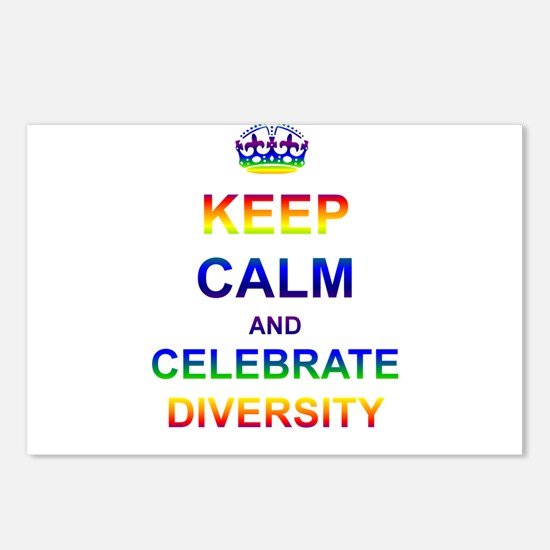 Keep Calm and Celebrate Diver Postcards (Package o