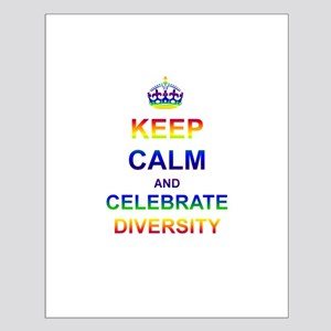 Keep Calm and Celebrate Diver Small Poster