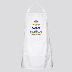 Keep Calm and Celebrate Diver Apron