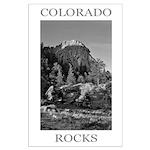Colorado Rocks Poster