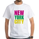 New York City White T-Shirt
