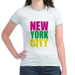 New York City Jr. Ringer T-Shirt