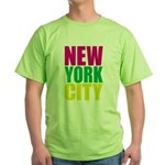 New York City Green T-Shirt