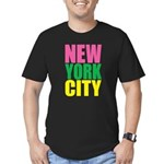 New York City Men's Fitted T-Shirt (dark)
