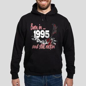 Born in 1995 Hoodie (dark)