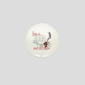 Born in 1992 Mini Button