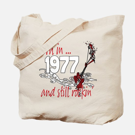Born in 1978 Tote Bag