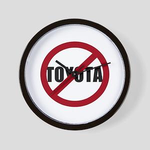 Anti-Toyota Wall Clock
