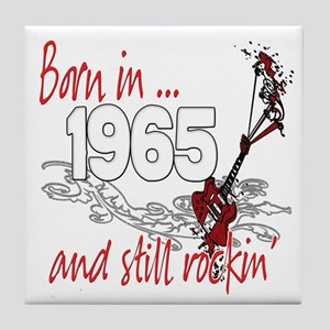 Born in 1965 Tile Coaster