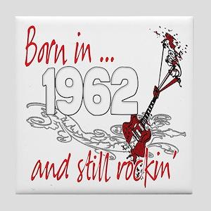 Born in 1962 Tile Coaster