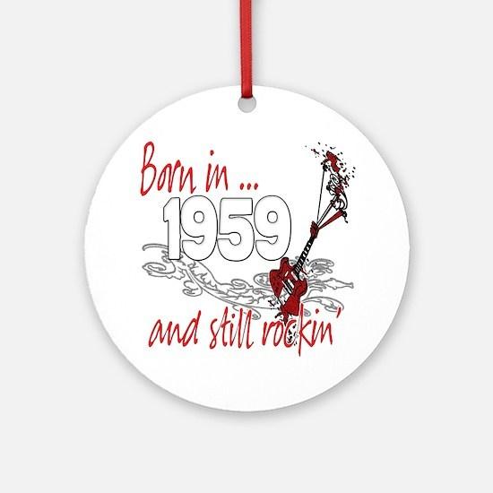 Born in 1959 Ornament (Round)