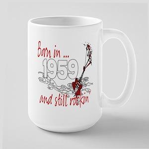 Born in 1959 Large Mug