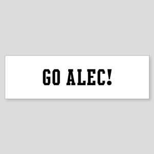 Go Alec Bumper Sticker