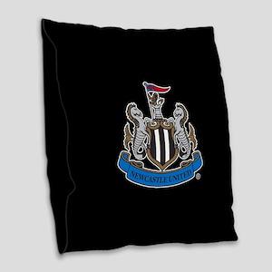 Newcastle United Fullbleed Burlap Throw Pillow