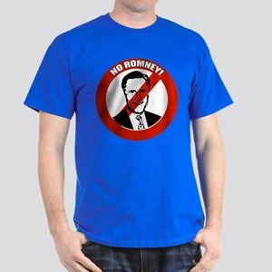 No Romney Dark T-Shirt
