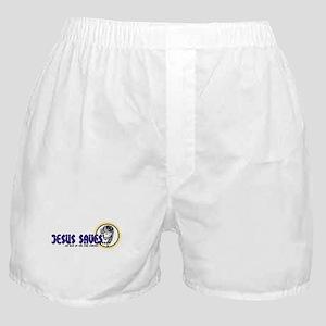 Jesus Saves! Boxer Shorts