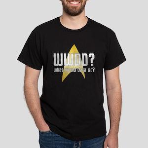 Star Trek: WWDD? Dark T-Shirt