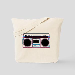Footloose Boombox Tote Bag