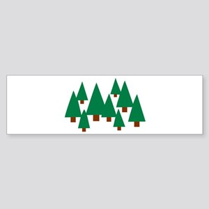 Forest trees Sticker (Bumper)