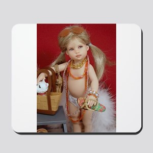 Riley Doll Color Mousepad