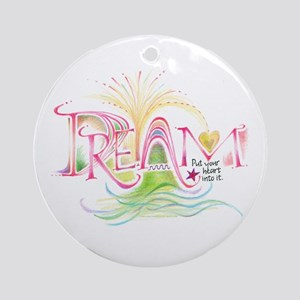 Dream Ornament (Round)