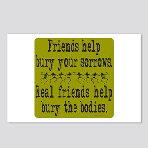 REAL FRIENDS/FRIENDS Postcards (Package of 8)