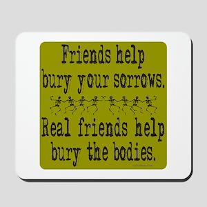 REAL FRIENDS/FRIENDS Mousepad