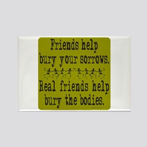 REAL FRIENDS/FRIENDS Rectangle Magnet