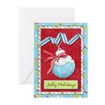 Jolly Holidays Greeting Cards (Pk of 10)