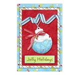 Jolly Holidays Postcards (Package of 8)