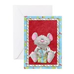 Christmas Mouse With Gift Greeting Cards (Pk of 20