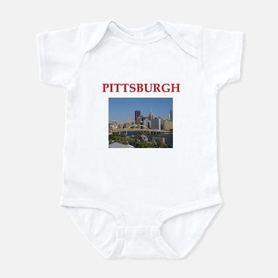pittsburgh Infant Bodysuit