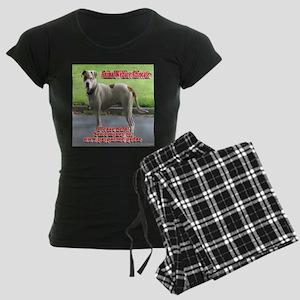 Animal Welfare Advocate Women's Dark Pajamas