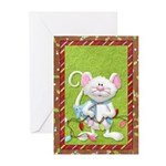 Mouse Holiday Greeting Cards (Pk of 20)