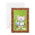 Mouse Holiday Greeting Card