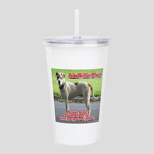 Animal Welfare Advocat Acrylic Double-wall Tumbler