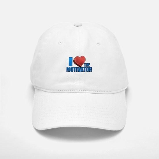 I Heart the Motivator Baseball Baseball Cap