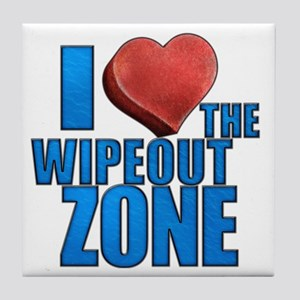 I Heart the Wipeout Zone Tile Coaster