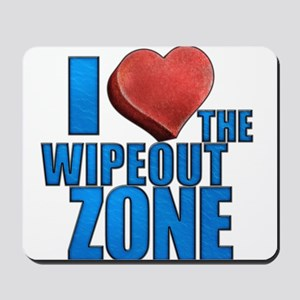 I Heart the Wipeout Zone Mousepad