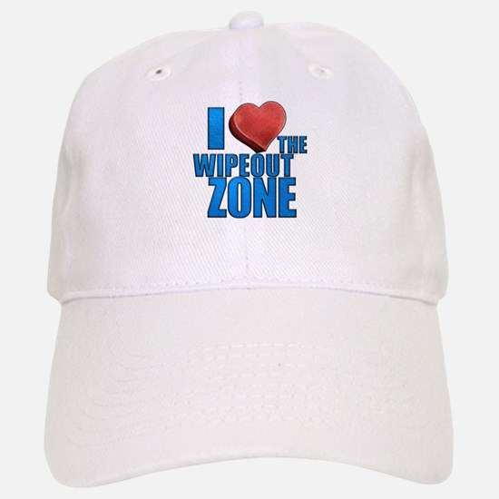I Heart the Wipeout Zone Baseball Baseball Cap