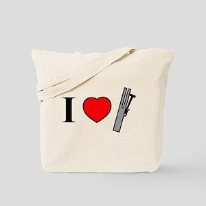 I Heart Chimes - Horizontal Tote Bag