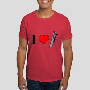 I Heart Chimes - Horizontal Dark T-Shirt