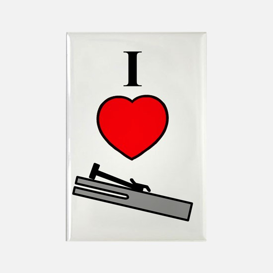 I Heart Chimes- Vertical Rectangle Magnet