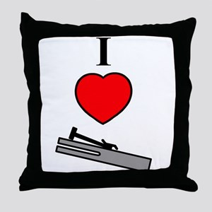 I Heart Chimes- Vertical Throw Pillow