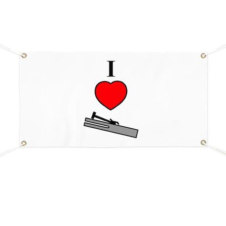 I Heart Chimes- Vertical Banner by handbellhijinks