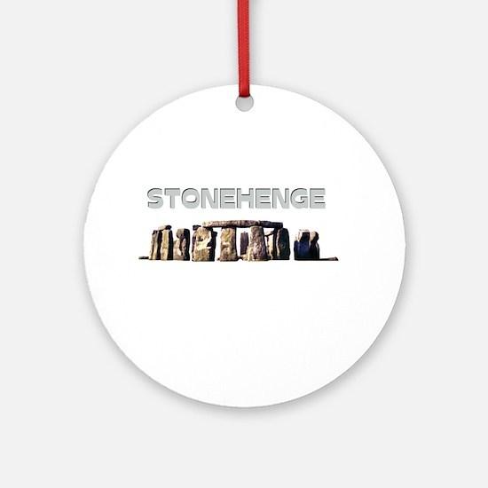 Stonehenge Ornament (Round)