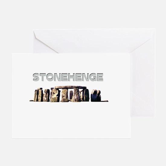 Stonehenge Greeting Card